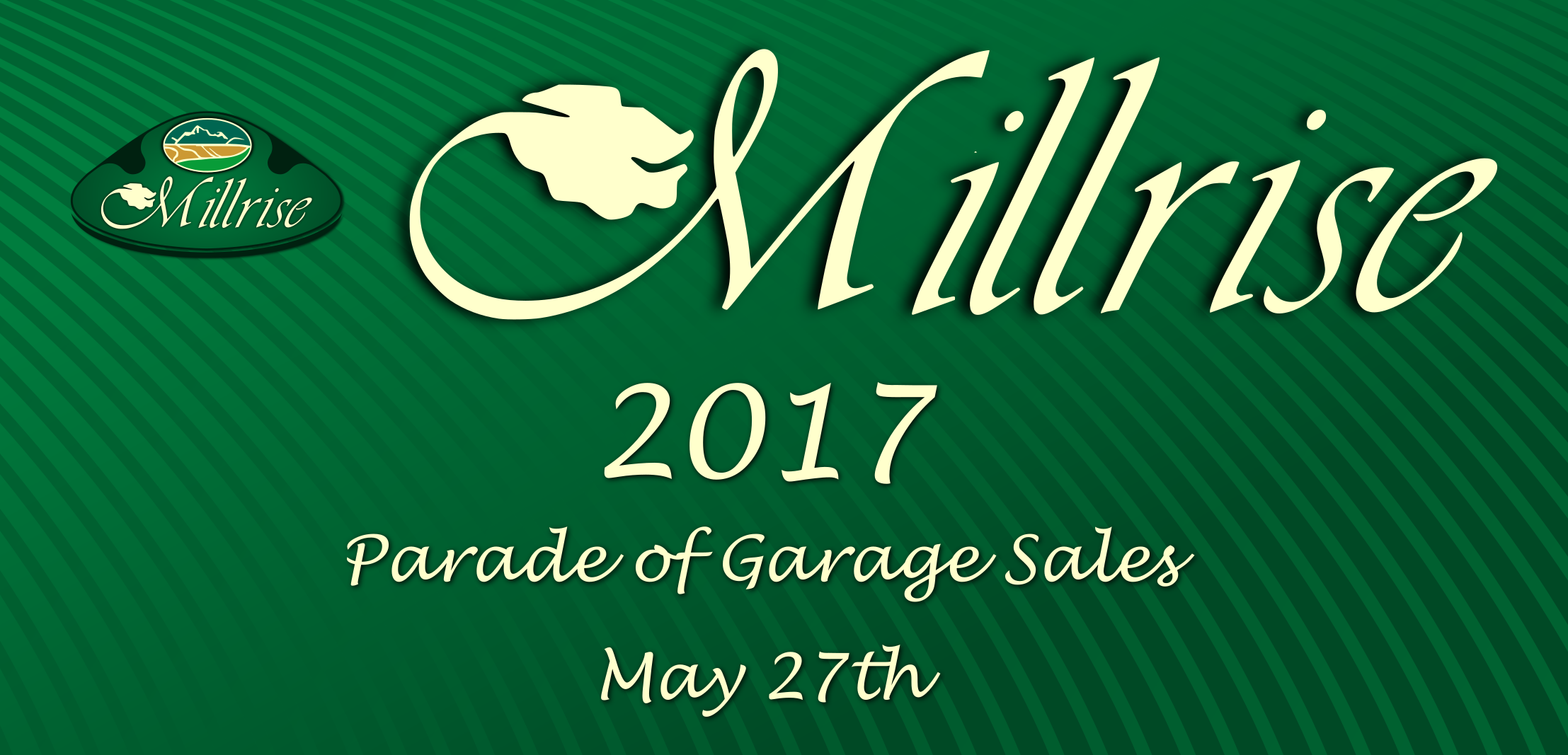 2017 Millrise Parade of Garage Sales